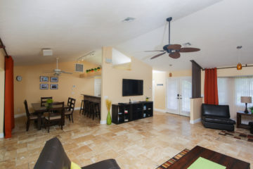Florida villa interior